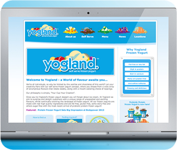 Yogland website